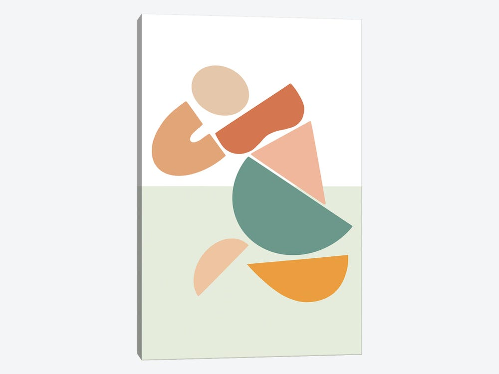 Womxn Before Sea by Figure Form 1-piece Canvas Art Print