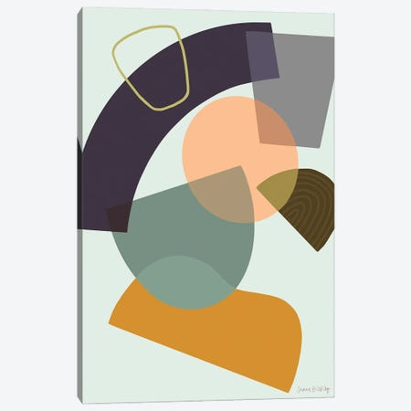Deconstruction With Sage Canvas Print #FGF62} by Figure Form Canvas Art