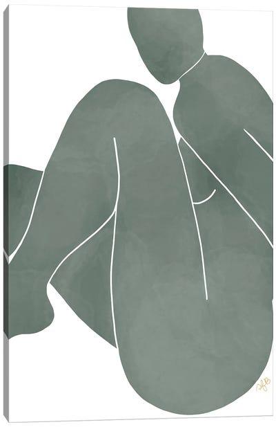 Figure Bending Canvas Art Print