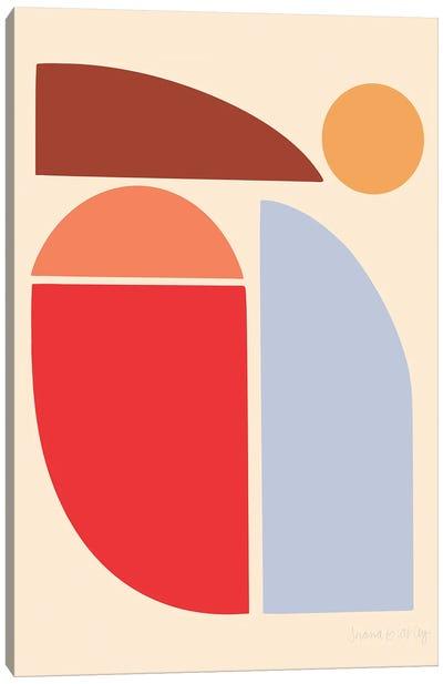 East-Facing Sun Canvas Art Print
