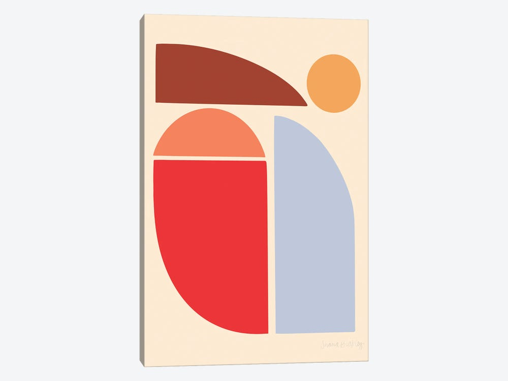 East-Facing Sun by Figure Form 1-piece Canvas Print