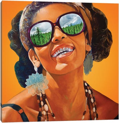 Holiday Destination Canvas Art Print