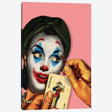 New Makeup For My Wife Canvas Print #FGM17} by Figaro Many Canvas Art Print
