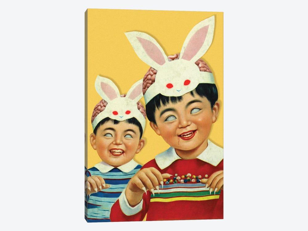 Bloodthirsty Children by Figaro Many 1-piece Canvas Artwork