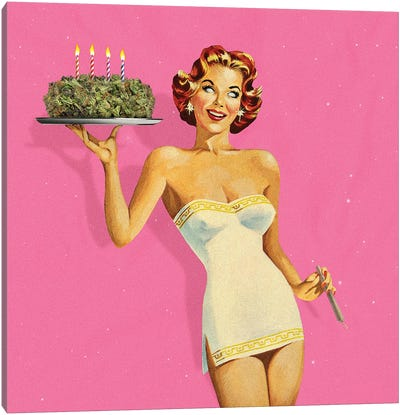 Birthday Party Canvas Art Print