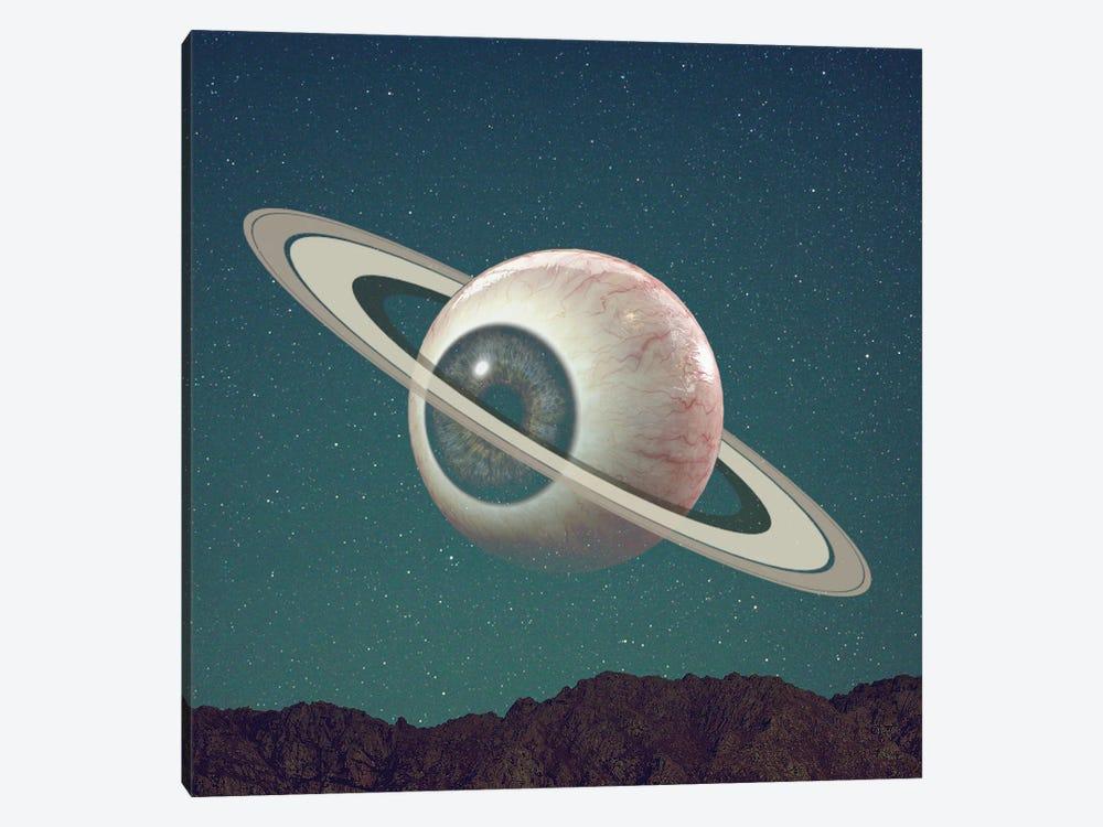 Saturn Eye by Figaro Many 1-piece Canvas Wall Art