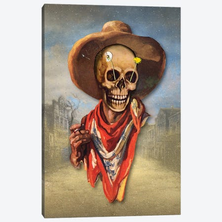 Dead West Canvas Print #FGM31} by Figaro Many Canvas Art