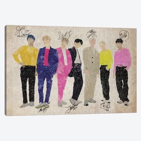 BTS Bangtan Boys Euphoria Canvas Print #FHC15} by FisherCraft Canvas Art Print