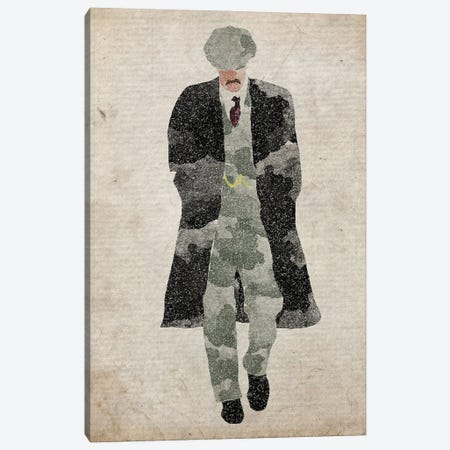 Peaky Blinders Arthur Shelby Walking Canvas Print #FHC163} by FisherCraft Canvas Artwork