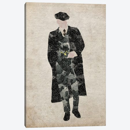 Peaky Blinders John Shelby Canvas Print #FHC166} by FisherCraft Canvas Print