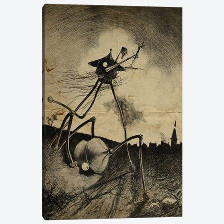 War Of The Worlds Fallen Comrade Canvas Print #FHC203} by FisherCraft Art Print