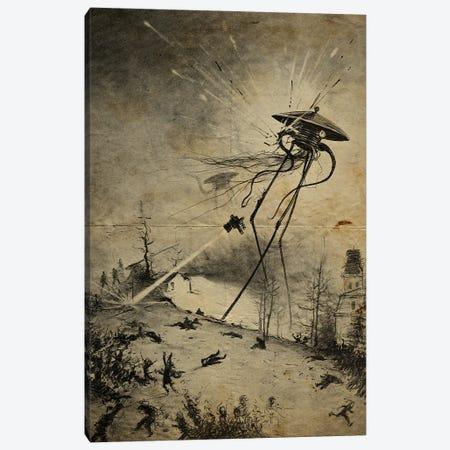 War Of The Worlds Destruction Canvas Print #FHC204} by FisherCraft Canvas Art