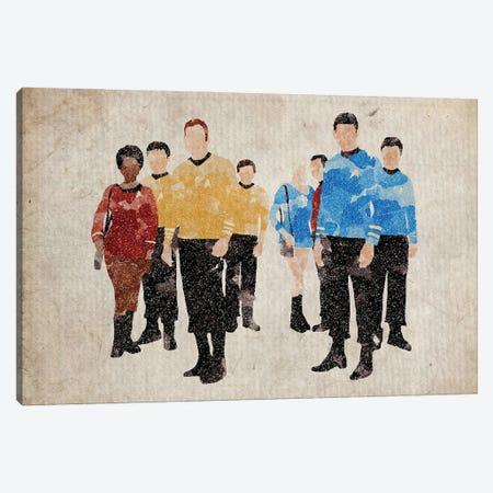 Star Trek Original Series Cast Canvas Print #FHC216} by FisherCraft Canvas Print