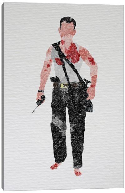 Die Hard John Mcclane Canvas Art Print