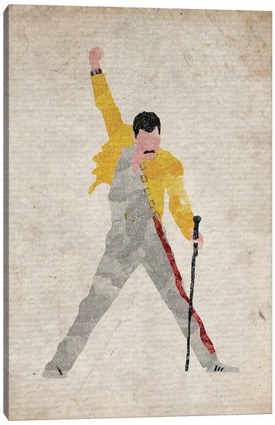 Freddie Mercury II Canvas Art Print