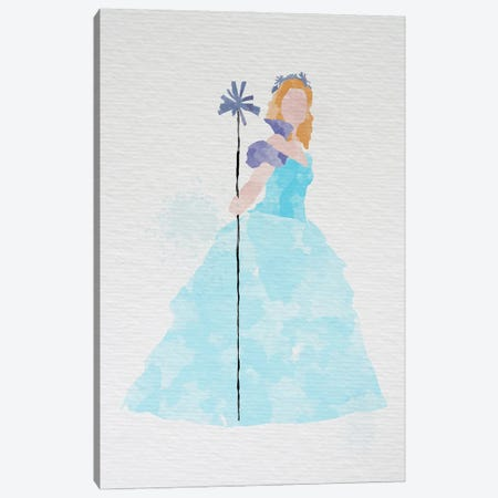 Glinda The Good Witch (Wicked Version) Canvas Print #FHC37} by FisherCraft Art Print