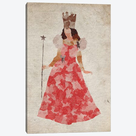Glinda The Good Witch Canvas Print #FHC38} by FisherCraft Canvas Wall Art