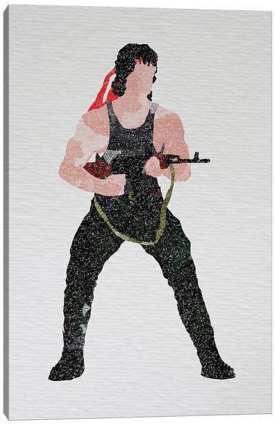 Rambo Canvas Art Print