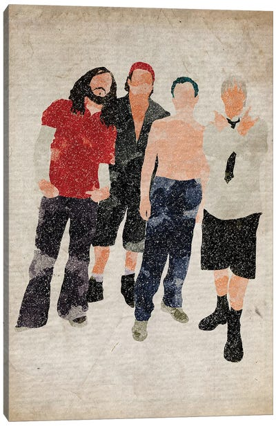 Red Hot Chili Peppers Canvas Art Print