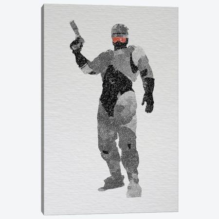 Robocop Canvas Print #FHC73} by FisherCraft Canvas Art