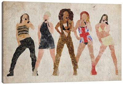 The Spice Girls Canvas Art Print