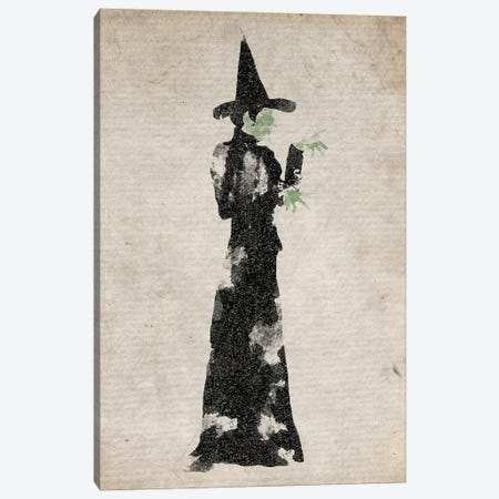 The Wicked Witch Of The East Canvas Print #FHC93} by FisherCraft Canvas Artwork