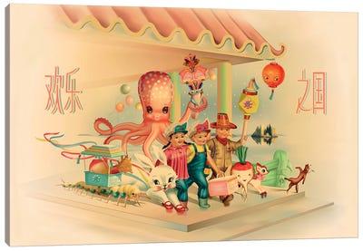 Kingdom Of Happy Joy Canvas Art Print