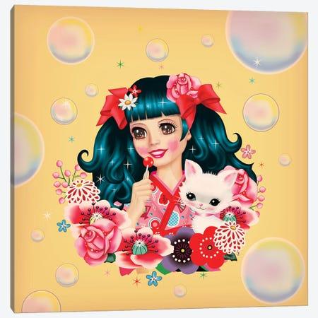 Lollipop Dreams Canvas Print #FHE18} by Fiona Hewitt Canvas Artwork