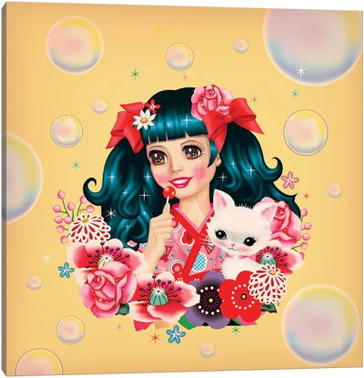 Lollipop Dreams Canvas Art Print