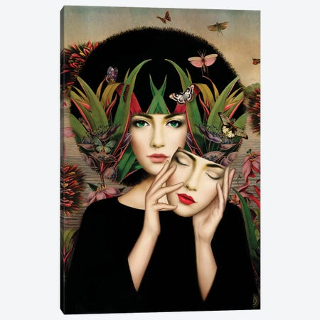 Awakening Canvas Print #FHE1} by Fiona Hewitt Canvas Art