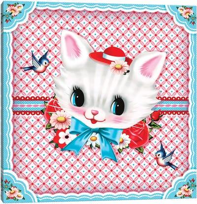 Sweet Kitty Canvas Art Print