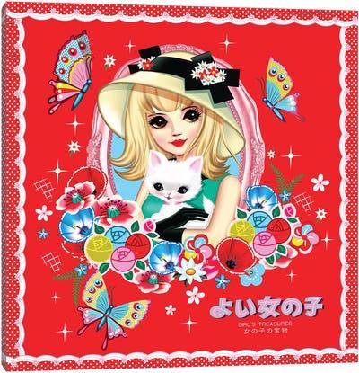 Tokyo Belle Canvas Art Print