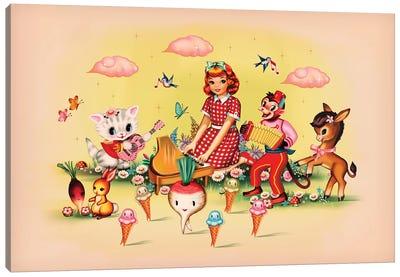 Coney Island Canvas Art Print
