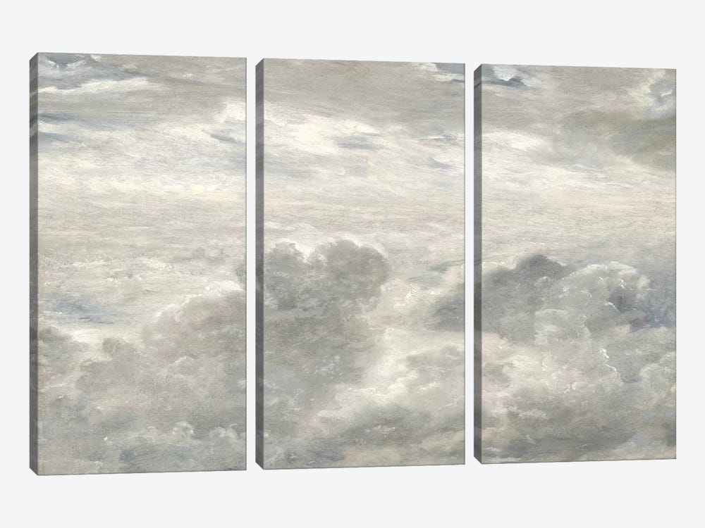 Cloud Study I by Sophia Mann 3-piece Canvas Art Print