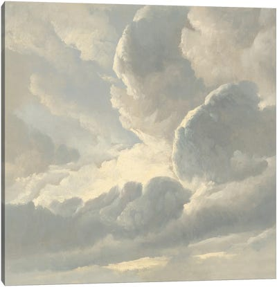 Cloud Study III Canvas Art Print
