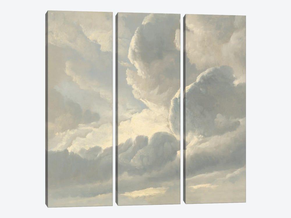 Cloud Study III by Sophia Mann 3-piece Canvas Art Print
