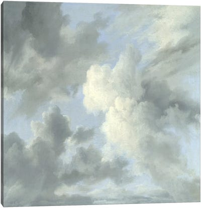 Cloud Study IV Canvas Art Print