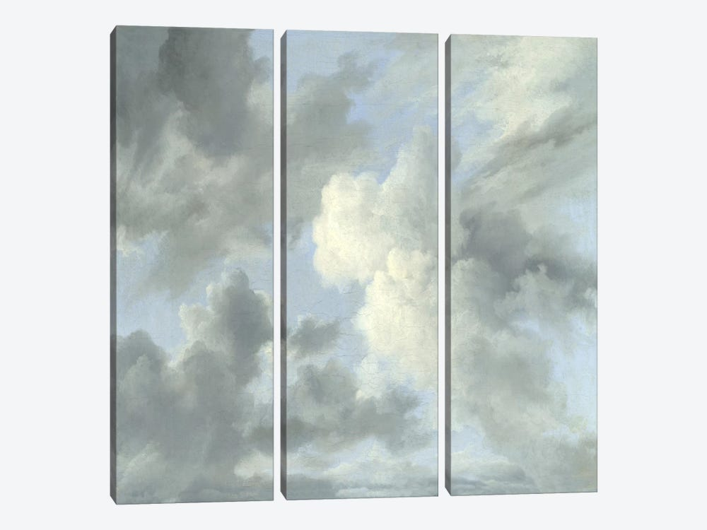 Cloud Study IV by Sophia Mann 3-piece Canvas Wall Art