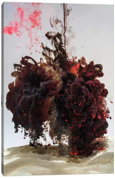 Arena Black Hole III Canvas Art Print