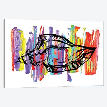 Caracol I 3-Piece Canvas #FJB118} by Frank Banda Canvas Art
