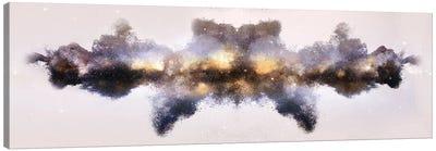 Nebula de Arena, Gold Canvas Art Print