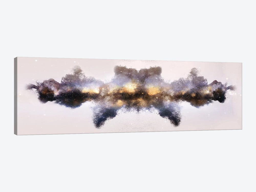 Nebula de Arena, Gold by Frank Banda 1-piece Canvas Artwork
