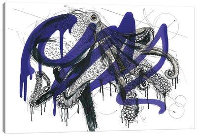 Octopus Reef Canvas Art Print