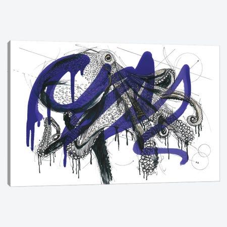 Octopus Reef Canvas Print #FJB136} by Frank Banda Canvas Print
