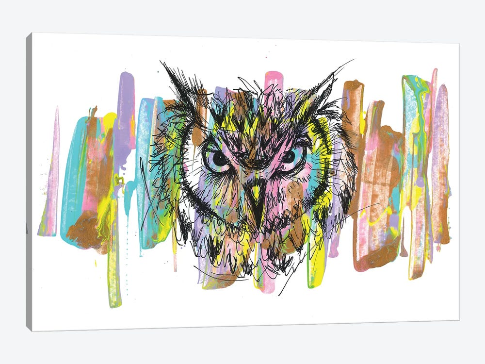 Owl by Frank Banda 1-piece Art Print