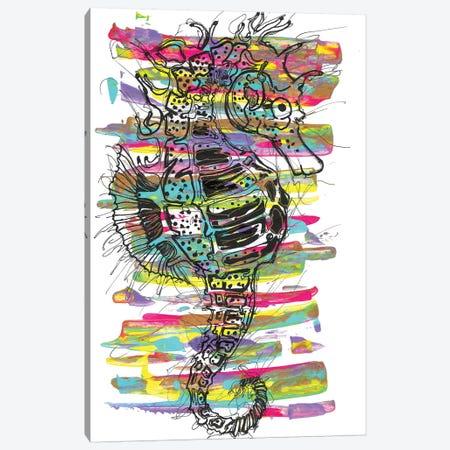 Seahorse Canvas Print #FJB139} by Frank Banda Canvas Artwork
