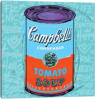 Special Campbell's Blue Soup Canvas Art Print