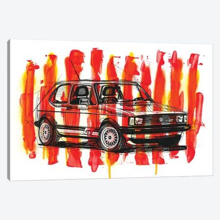 Caribe GT 1983 Canvas Print #FJB22} by Frank Banda Canvas Art Print