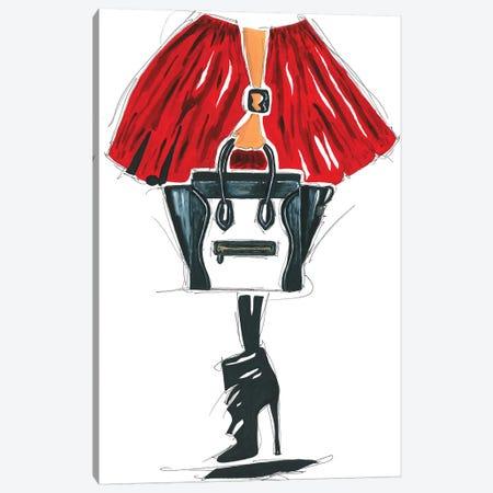 Celine Canvas Print #FJB24} by Frank Banda Canvas Art