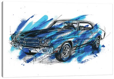 Chevelle SS 1970 Canvas Art Print